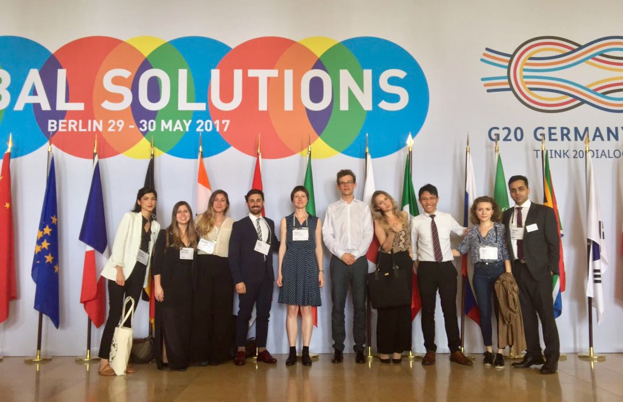 G20 Think Tank Summit Berlin Germany May 2017