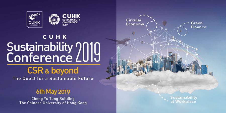 cuhk sustainability conf 2019